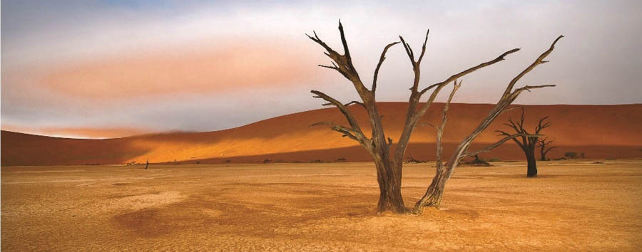 Da Windhoek alle VicFalls (camping) - Namibia Dead Vlei