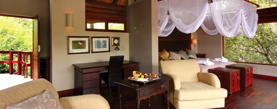 Royal Chundu - River Lodge Suite interior