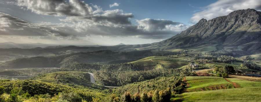 Delaire Graff Estate - Stellenbosch Landscape