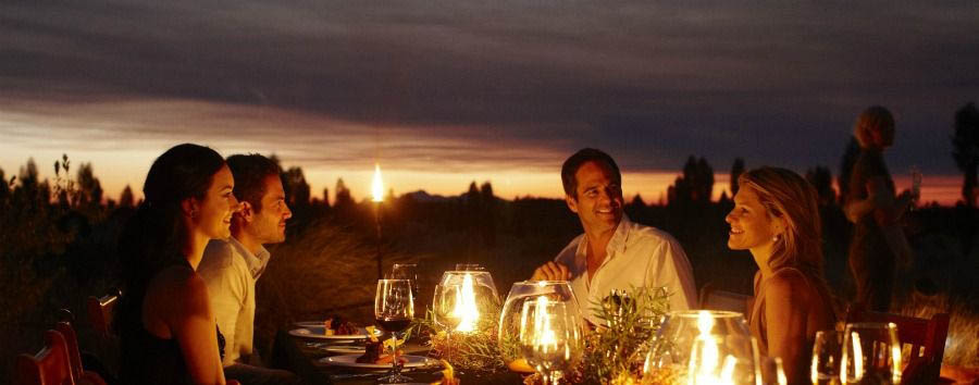 Unique Uluru Experience - Australia Outback Dining at Table 131° © Luxury Lodges of Australia