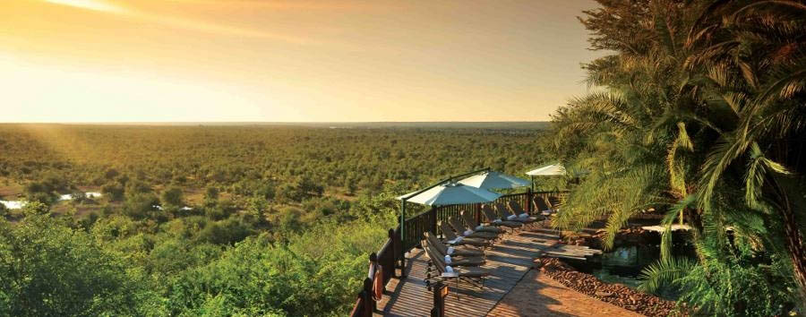 Zimbabwe - Victoria Falls Safari Lodge view