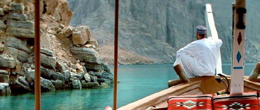 Crociera lungo la costa di Musandam - Oman Musandam, Watching the Sea