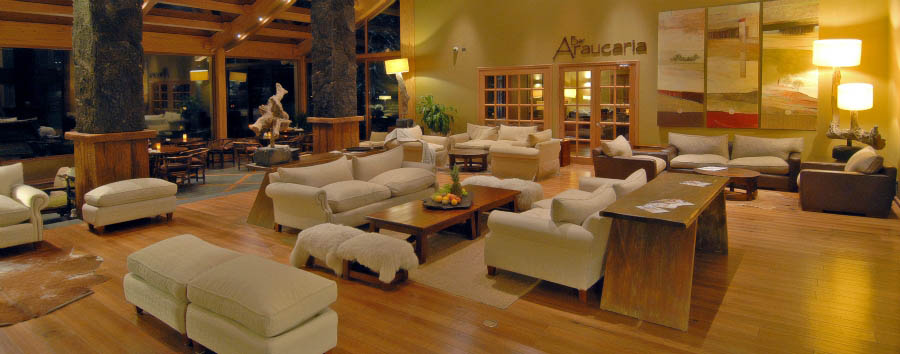 Hotel Cumbres Patagonicas - Lobby