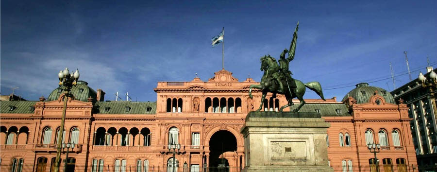Argentina - Buenos Aires - Casa Rosada, the Presidential residency