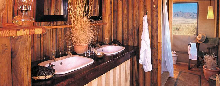 Wolwedans Dune Camp - Bathroom
