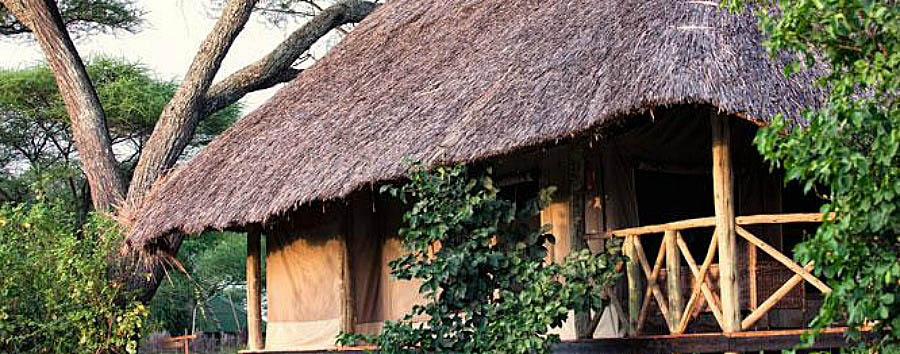 Tarangire River Camp - Lodge Exterior