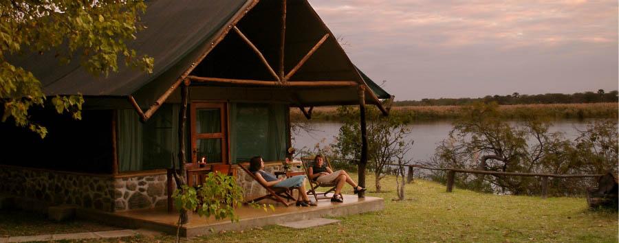 Sud Malawi: safari e foreste - Malawi Relaxing at Mvuu Camp
