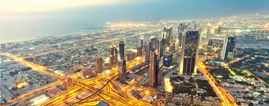 Dubai, mare a Jumeirah Beach - Dubai Aerial View