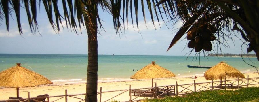 Vilanculos Beach Lodge - View of the beach