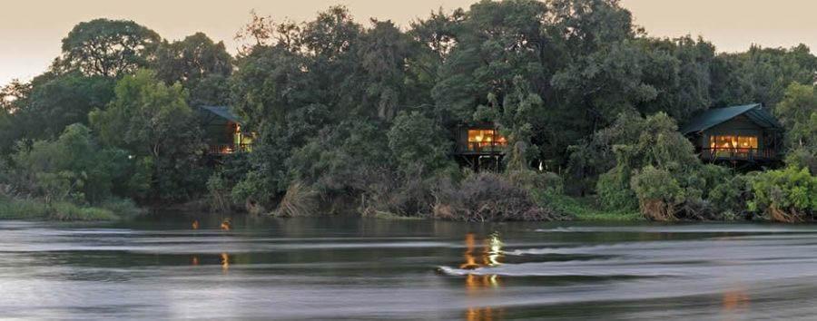 Zambia, Victoria Falls à la carte - Zambia Islands of Siankaba, exterior view