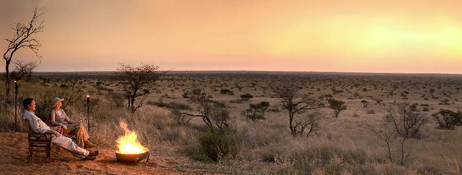 Luxury Cape Town & Kalahari - South Africa Sunset at Tswalu Kalahari