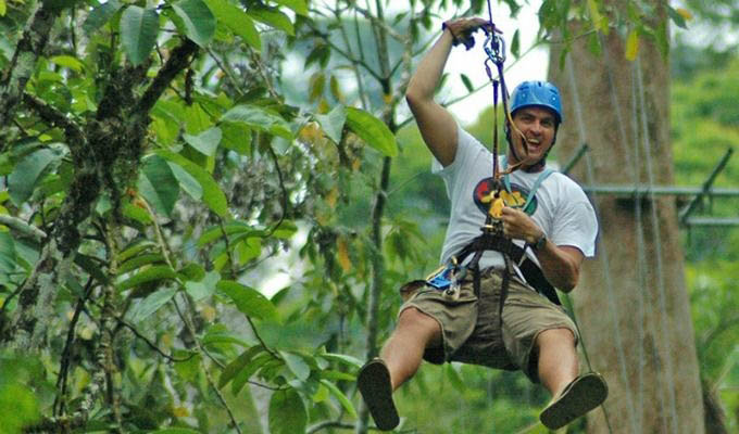 Pacuare Lodge, Canopy Tour - Costa Rica