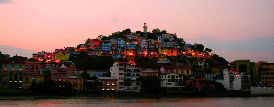 Lo Mejor de Ecuador - Ecuador View of Guayaquil by Night