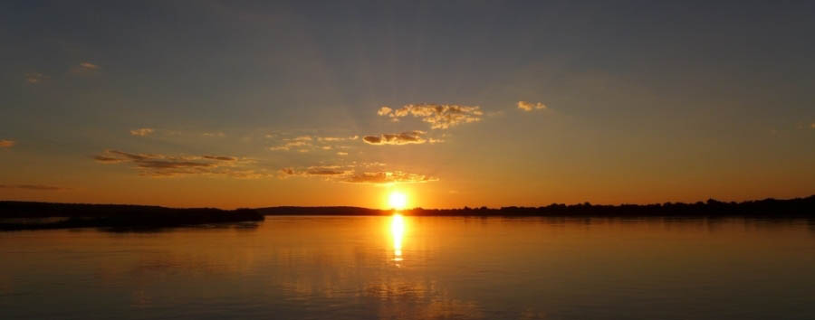 Botswana - Sunset on Chobe River
