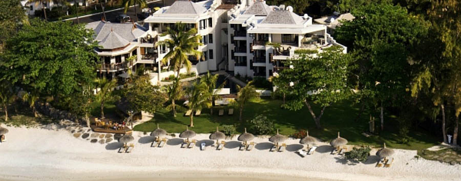 Mauritius - Le Cardinal Exclusive Resort, Aerial View