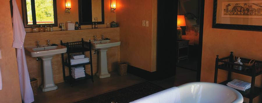 Royal Malewane - Suite bathroom