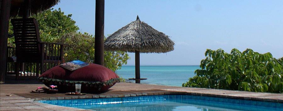 Anantara Medjumbe Island Resort & Spa - Spa deck