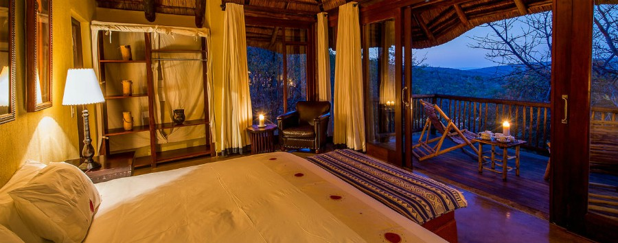 Sudafrica Malaria free - South Africa Welgevoden Game Reserve - Luxury suite at Tshwene Lodge