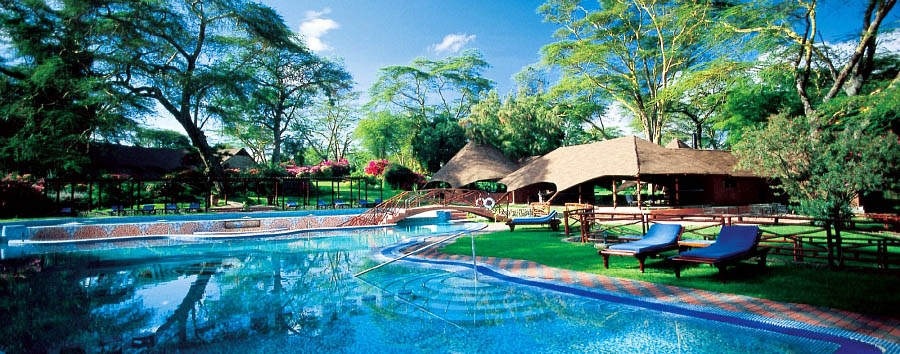 Kenya a 360° - Kenya Lake Naivasha Sopa Resort: pool area