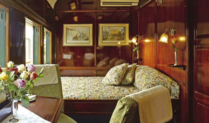 Rovos Rail - Deluxe suite