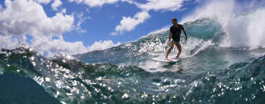 Fiji, mare a Qamea Island - Fiji Qamea Resort & Spa, Surfing