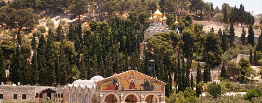 Classic Israel - Israel Jerusalem, Churches on the Mount of Olives