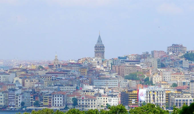 Istanbul, City View with Galata - Turkey