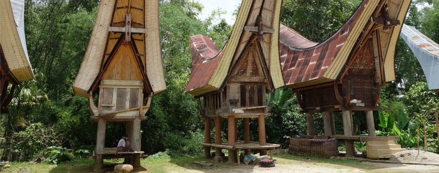 Indonesia - Tana Toraja, Rice Barns © Lord Mountbatten