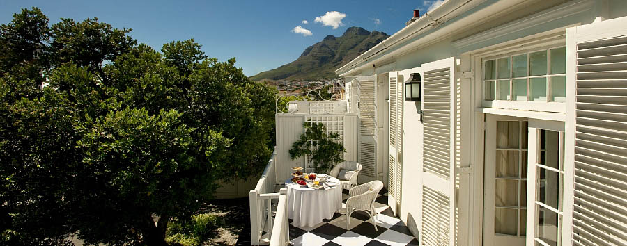 Cape Cadogan Boutique Hotel - Room balcony