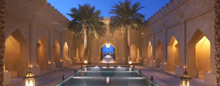 Qasr Al Sarab Desert Resort & Spa by Anantara - Courtyard Entrance