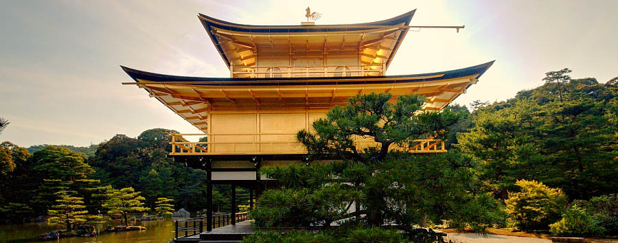 Japan - Kyoto - View of the Kinkaku-ji Temple