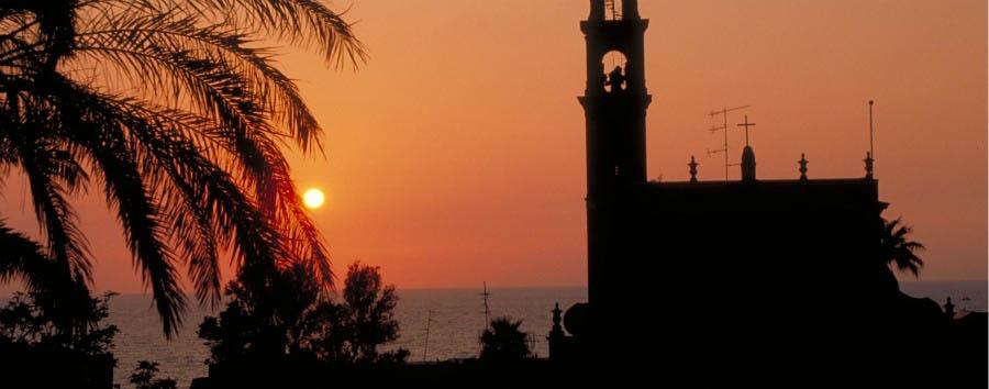 Capodanno a Tel Aviv  - Tel Aviv Old Jaffa, St. Peter's Church Silhouette
