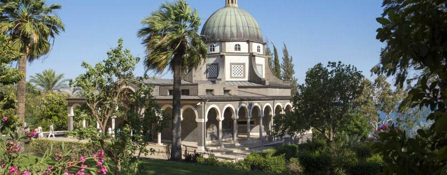 Gems of Israel - Israel Mount of Beatitudes Church and Garden © Itamar Grinberg