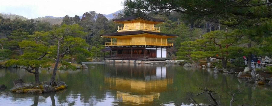 Gay Wedding in Kyoto - Japan Kyoto, Kinkaku-ji Temple, The Golden Pavilion