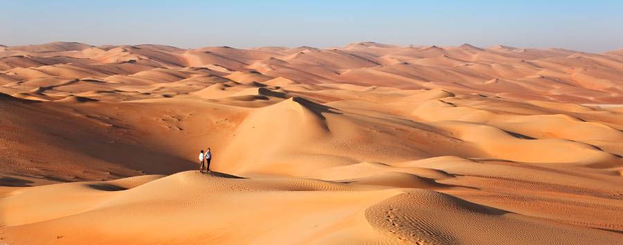 Qasr Al Sarab Desert Resort & Spa by Anantara - Desert Walk
