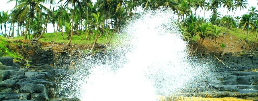 Roças de São Tomé - São Tomé Boca do Inferno