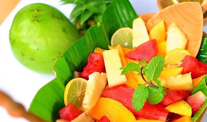 Breezes Beach Club & Spa, Fresh Fruit - Zanzibar