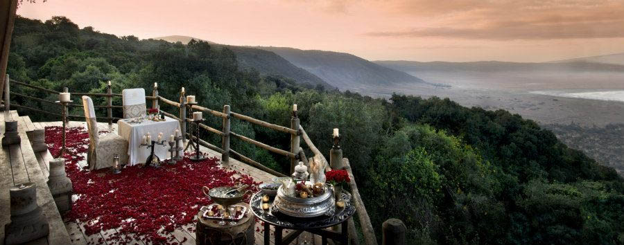 Ngorongoro+Crater+Lodge+-+Private+%26+Romantic+Dining+Setting