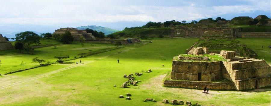 ¡Viva Mexico! - Mexico Oaxaca, Monte Albán Ruins
