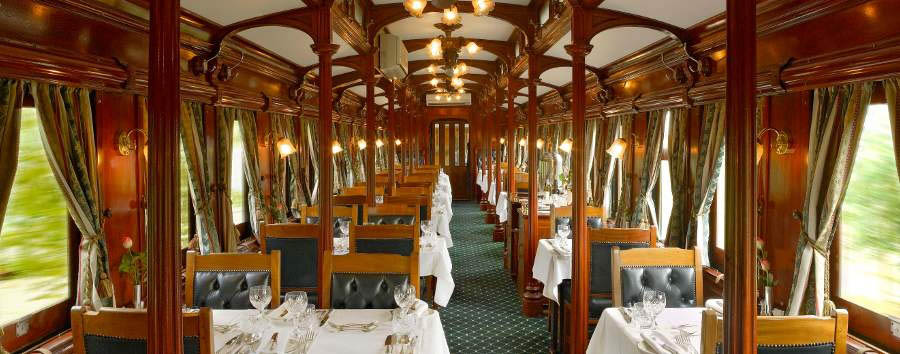Rovos Rail - Dining car