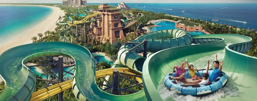 Mare all'Atlantis The Palm - Dubai Atlantis The Palm, Aquaventure Waterpark