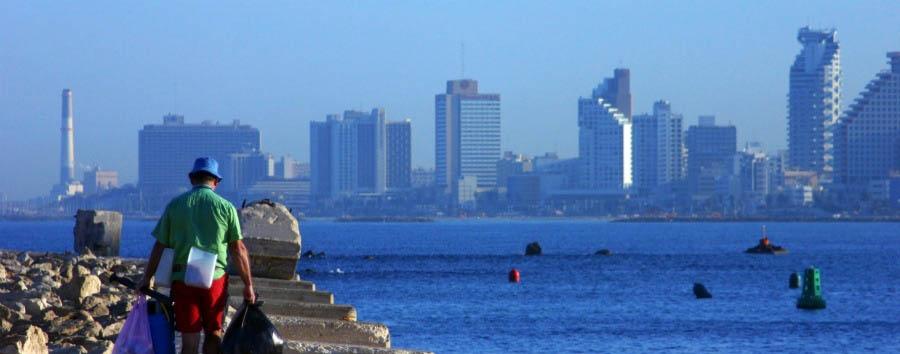 Israele in libertà - Israel Tel Aviv, Panorama View