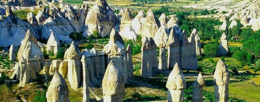 Turkey - Fairy Chimneys in Cappadocia