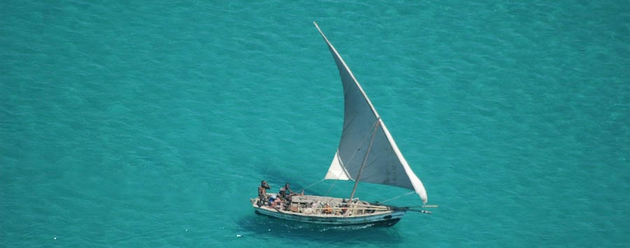 Quirimbas Island Hopping - Mozambique A traditional fishing dhow