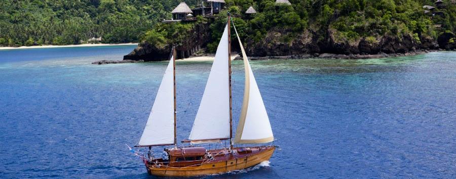 Fiji, mare a Laucala Island - Fiji Laucala Island Resort, Sailing