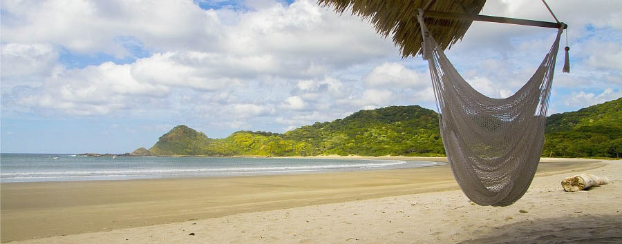 Nicaragua Ocean Experience - Nicaragua Morgan's Rock, Hammock on The Beach
