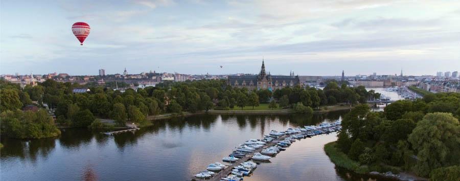Le Regine della Scandinavia - Sweden Stockholm, View over Djurgården © Ola Ericson/imagebank.sweden.se