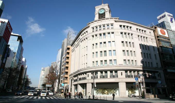 Wako store in Ginza, Tokyo - Japan