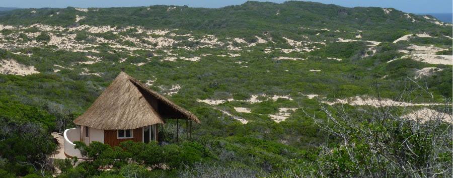 Mozambico, yoga e relax - Mozambique Dunes de Dovela, Bungalow Exterior