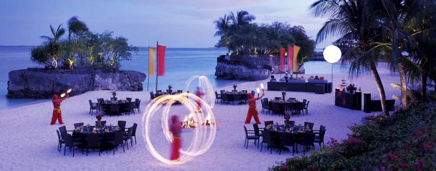 Mare a Cebu - Philippines Shangri La's Mactan Island Resort & Spa, Playa del Fuego